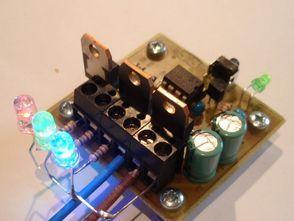 PWM Yöntemi ile  RGB Led Sürülmesi PIC12F629 Mosfet