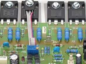 RMS 400W Hifi Mosfet Amplifikatör FET400 PCB