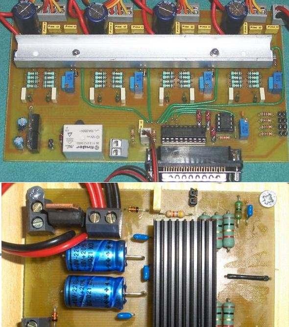 CNC Project L297 L298 L6208 Circuit cnc L297 L298 L6208 cnc pcb