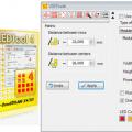 Led Tabela Ledli Yazı Projeleri İçin Corel Led Tool Kullanımı