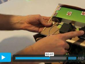 Mikrodenetleyici Servo Motor Kontrollü Süper Maryo
