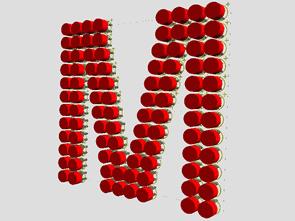 Proteus Ares A-Z Arası Led Harfler