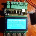 PIC18F4520 Unipolar Stepper Motor Driver Circuit step motor control lcd pic 120x120