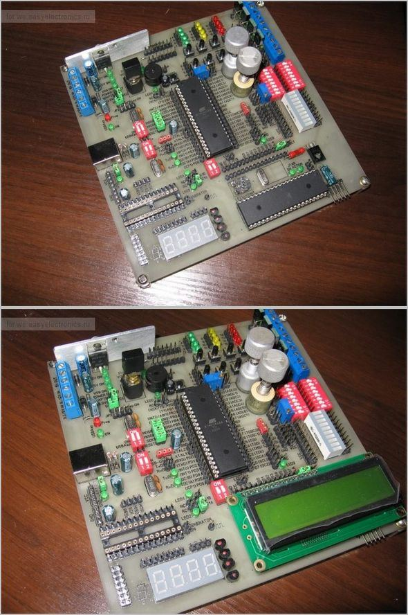 acquaintance-with-the-avr-development-board-avr-debug-board