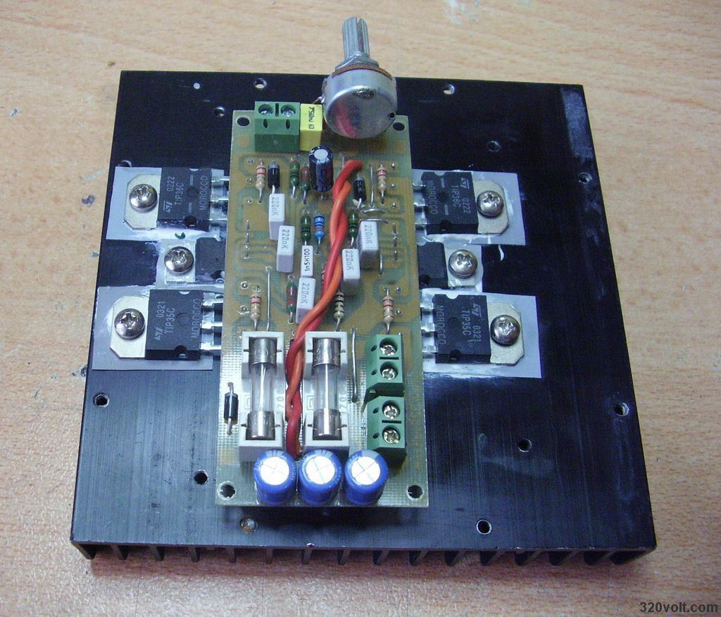 200w Amplifier Circuit Tda2030 New Pcb Electronics