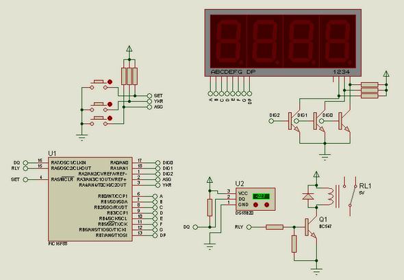 termostat-devresi-proteus-isis-devre-cizimi