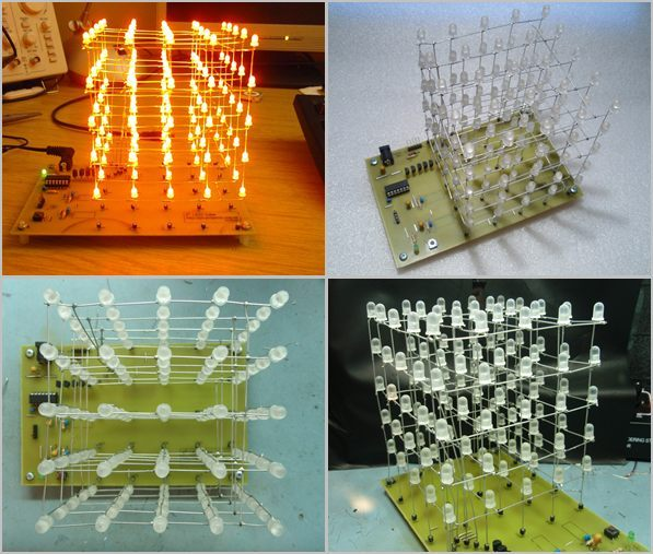 Led Cube Circuit 5x5x5 pic16f688 led cubes pcb the original prototype cube project bc637 pic16f688 cat4016 tlc5927