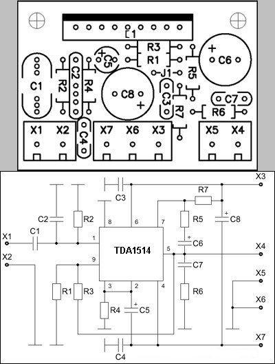 anfi-devresi-entegre-anfi-tda1514-mono-tda1514a-tda1514-pcb-amp-kit