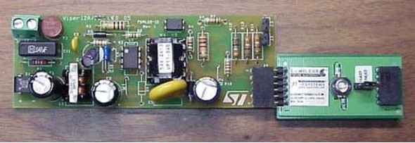 Ultra Bright White LED Driver Circuit PWM Viper22 application note vipower offline constant current led driver using viper12 viper22a