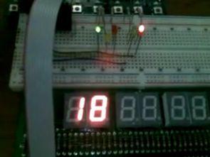 ATmega8515 (STK500 Kit) ile Gerçekleştirilmiş Trafik Işık Kontrolü
