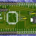 Microchip PIC24 Serisi Mikrodenetleyiciler İçin Deney Kartı Breakout board