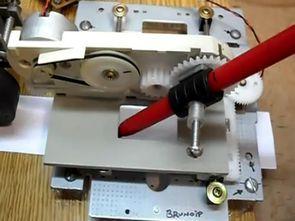 CD Rom Modifiyesi Bilgisayar Kontrollü Yazıcı Robot Projesi