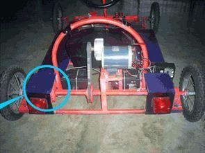 Elektrikli Araba İçin 24 Volt 500 Watt Motor Sürücü TL494