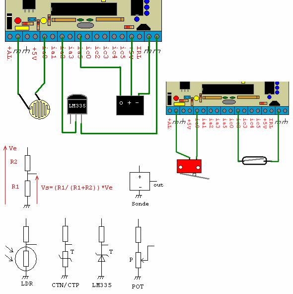 Programmable Automation PIC16F87X Electronic PLC Circuit elektronik plc karti plc devresi