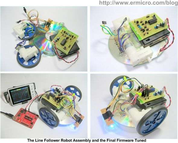 line-follower-robot-with-texas-instruments-16-bit-msp430g2231-microcontroller