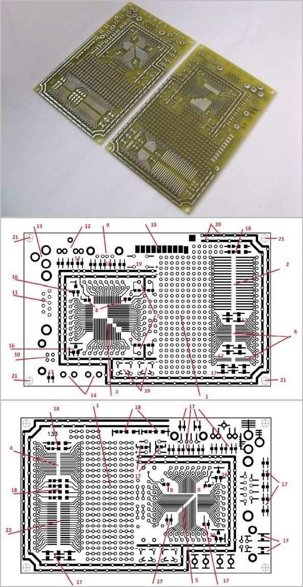 prototyping-board-for-microcontroller-devices-based-popular-microcontrollers