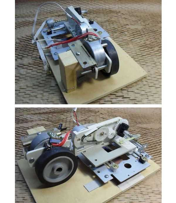 Computer Controlled Robot Project CD Rom Modification robot hobby circuits free electronic circuit robotics project