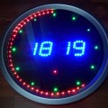 PIC16F648 Led Animated Clock Circuit Picbasic led alert round the clock with seconds animation leds circuit 3 120x120