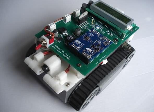 Bluetooth Joystick Controlled Discovery Robot Project robotlar proje devre robots robot