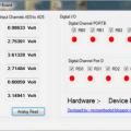Visual Basic PIC18F4550 USB  Analog Dijital  IO Kartı