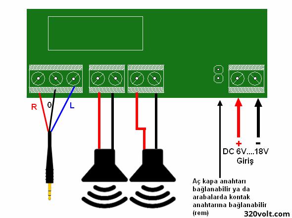 Усилитель звука на tda8560q