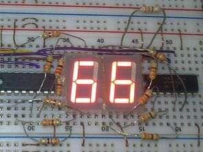AT89S52 74HC595 Elektronik Zar Uygulaması