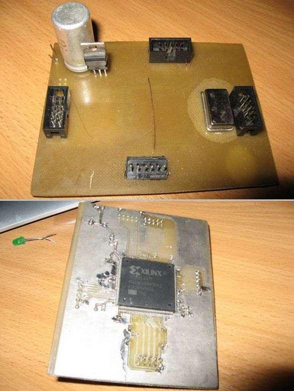 devoloment-board-xilinx-fpga-xc95144-pq160