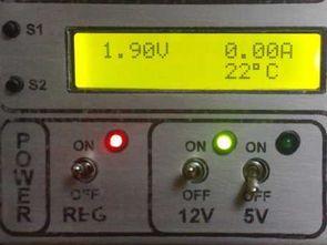 0 30V Güç Kaynağı LCD Volt Amper Isı Gösterge