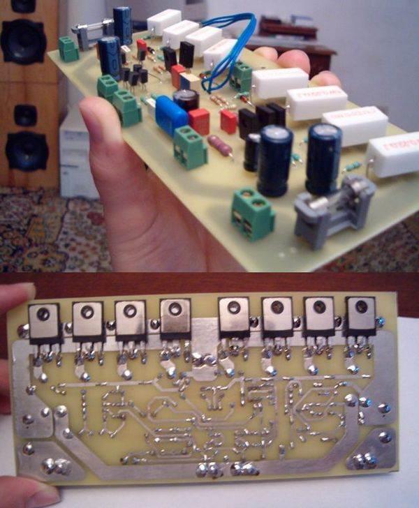 Mosfet Amplifier Circuit Hifi  AV400 RMS 400W 400w amp rectifier hexfet mosfet amplifier hifi