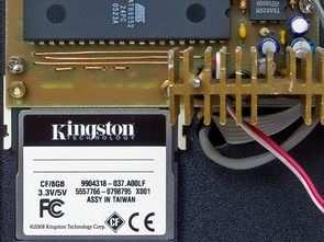 AT89S52 Wav Okuyucu 8GB Flash Bellek