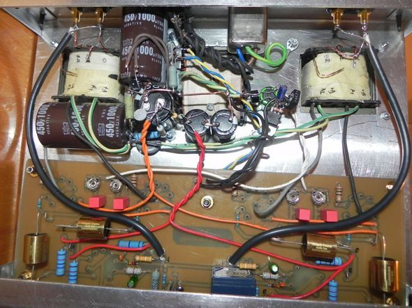 Tube Amplifier Project Fisher X100A fisher x100a clone pcb