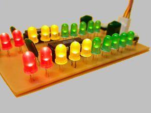 LM3915 Led Vumetre Mono Stereo