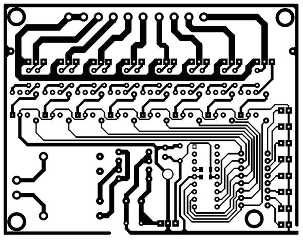 moc3020-triyak-pic16f628-circuit-PCB-Bottom-View