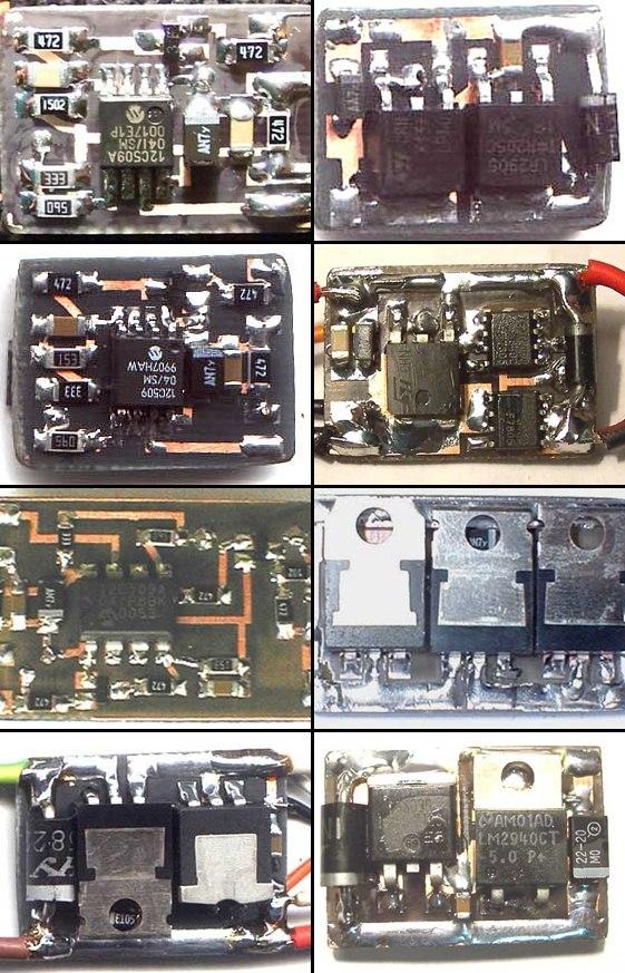 PWM Motor Control Circuit PIC12C509 rc pwm motor kontrol