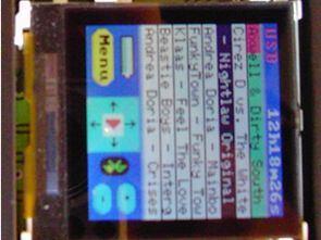 AT90USB1287 LMX9838 Bluetooth Winamp Kumanda Nokia LCD