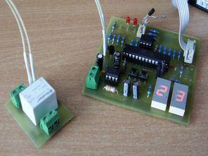 ATmega8 PT100 Sensörlü Termostat