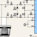 DTMF  Alıcı MT8870 KT3170 Örnek Test Devresi