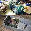Büyüteç Merceği ve 12V 100W Lamba İle Disko Efekt Sistemi
