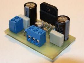 LM3875 Gainclone Mini PCB + Hesaplamaları