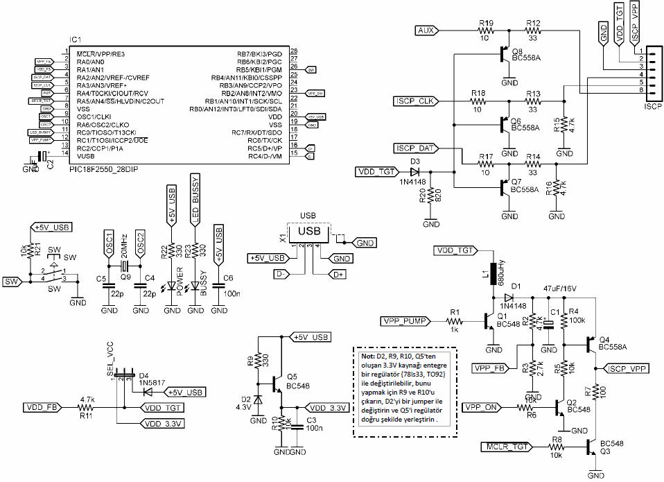 pickit-2-clone-5v-33v-circuit-diagram