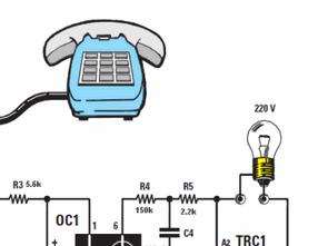 Telefon Çaldığında Lamba Yakma MOC3020 BT137