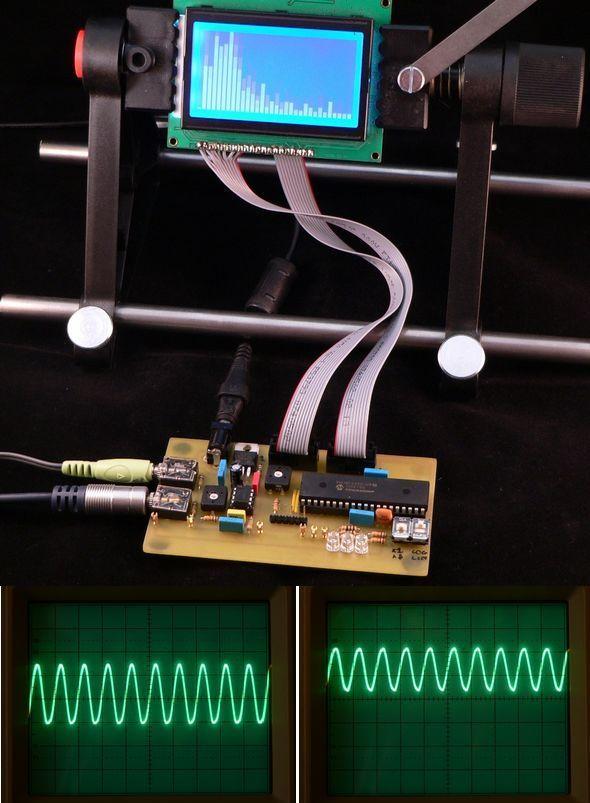 hitech-c18-fft-16-bit-fft-adcu-alu-real-time-ses-spektrum-analizor