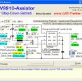 HV9910 MIC3201 Yüksek Güçlü Led Sürücüler için Program
