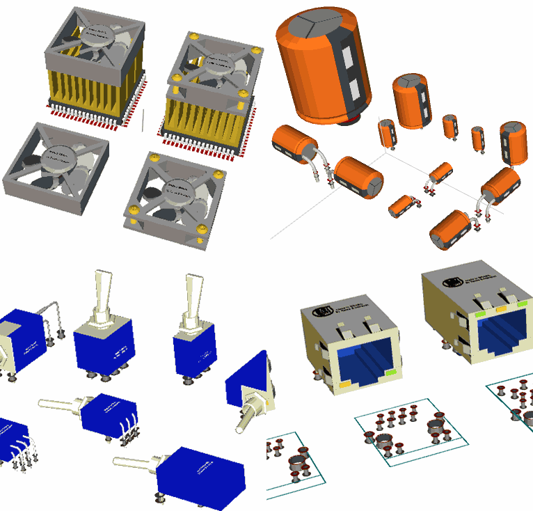 KiCad 3D Library Archive - Electronics Projects Circuits
