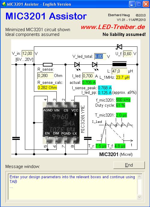 mic3201-high-brightness-led-driver-current-sense-calculator