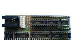 Microchip PIC Serisi  DIP 8-40 Pin İçin  Adaptör