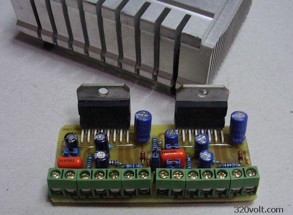 TDA7294 Amplifier Circuit Small PCB tda7294 200w kopru tda7294 bridge 2