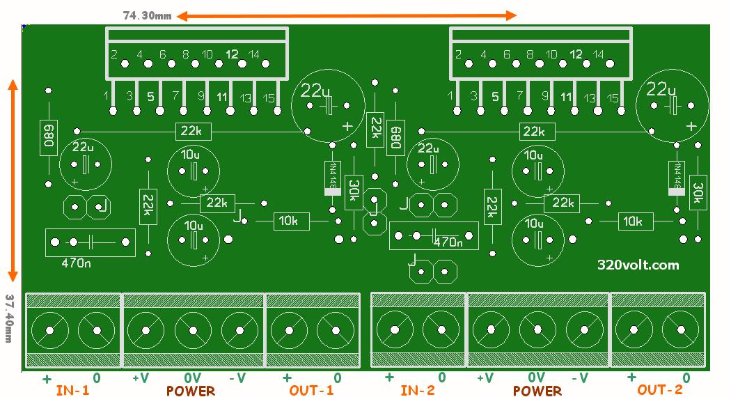 Tda7294 Stereo Amplifier Circuit Diagram - Circuit Diagram ...