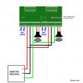TDA7294 Amplifier Circuit Small PCB tda7294 stereo baglanti semasi 120x120