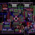 LPC2103 ARM Deney Kartı (+ usb kart )